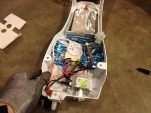 Refrigerator Control Box Kit Kit Installed